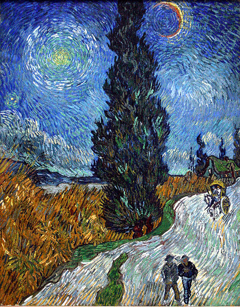 467px-Van_Gogh_-_Country_road_in_Provence_by_night[1]